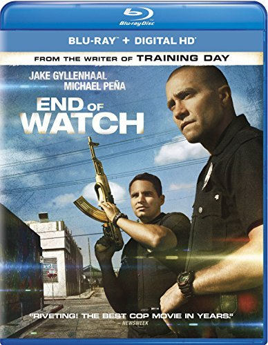 End Of Watch Gyllenhaal Pena Blu Ray Uv R