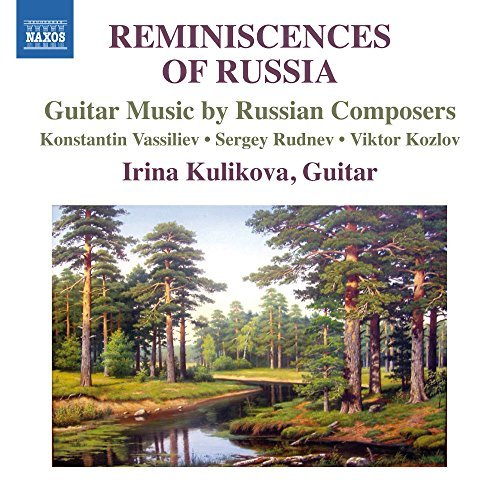 Vassiliev Irina Kulikova Reminiscences Of Russia Guitar