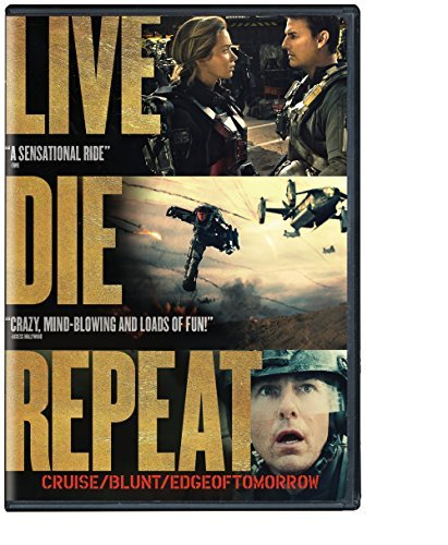 Edge Of Tomorrow Cruise Blunt DVD Uv Pg13