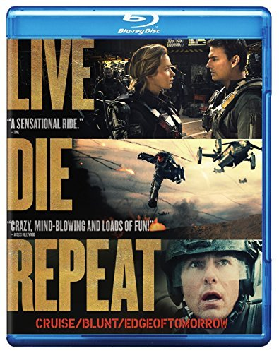 Edge Of Tomorrow Cruise Blunt Blu Ray DVD Uv Pg13