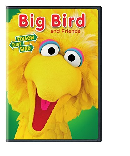 Sesame Street Big Bird And Friends Follow That Bird DVD Nr