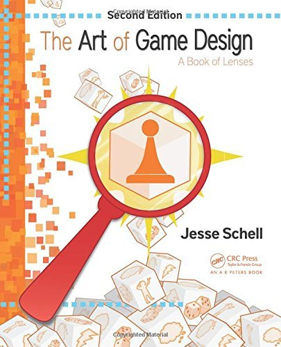 Jesse Schell The Art Of Game Design A Book Of Lenses Second Edition 0002 Edition;