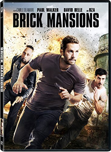 Brick Mansions Walker Rza Belle DVD Pg13