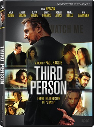 Third Person Neeson Kunis Brody DVD R