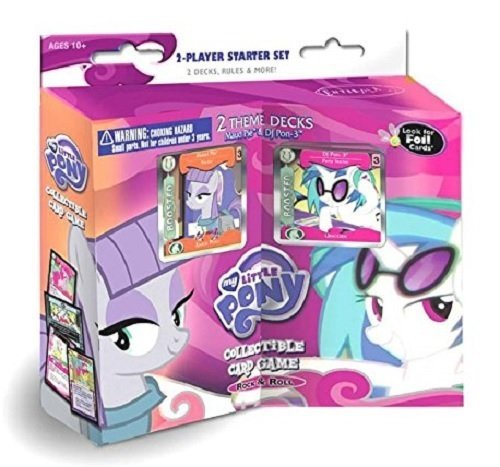 My Little Pony Cards Rock N Rave 2 Player Starter Set