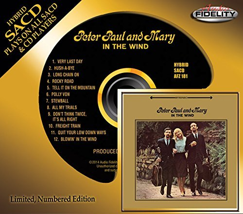 Peter Paul & Mary In The Wind Sacd