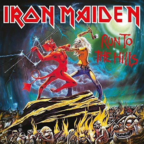 Iron Maiden Run To The Hills 7""