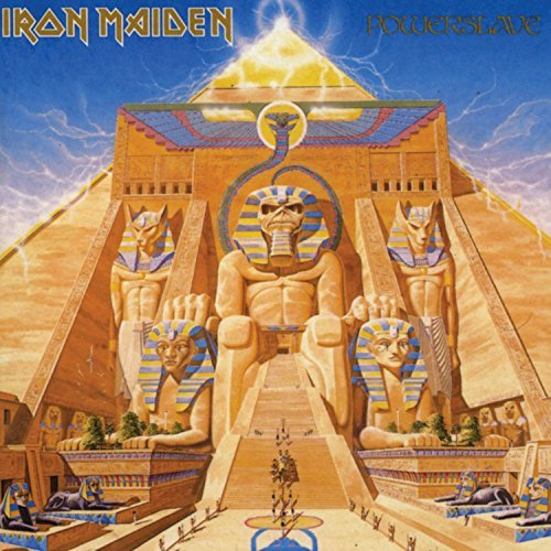Iron Maiden Powerslave Lp