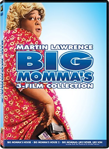 Big Momma's Triple Feature DVD Pg13