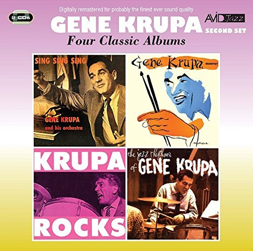 Gene Krupa Four Classic Albums Import Gbr 2 CD
