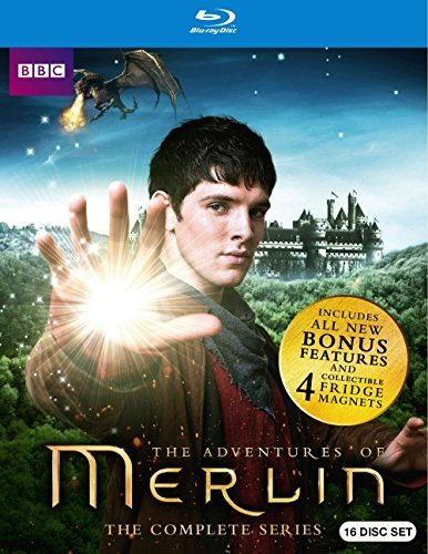 Merlin Complete Series Blu Ray