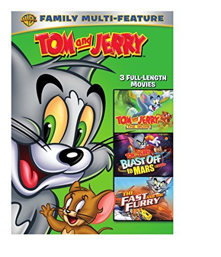 Tom & Jerry Movies 3 Pack Tom & Jerry Movies 3 Pack