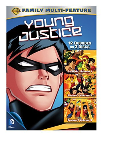 Young Justice 3 Pack DVD Nr