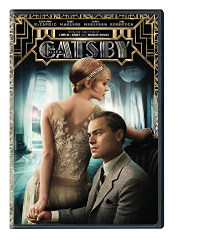 Great Gatsby (2013) Dicaprio Maguire Mulligan DVD Pg13