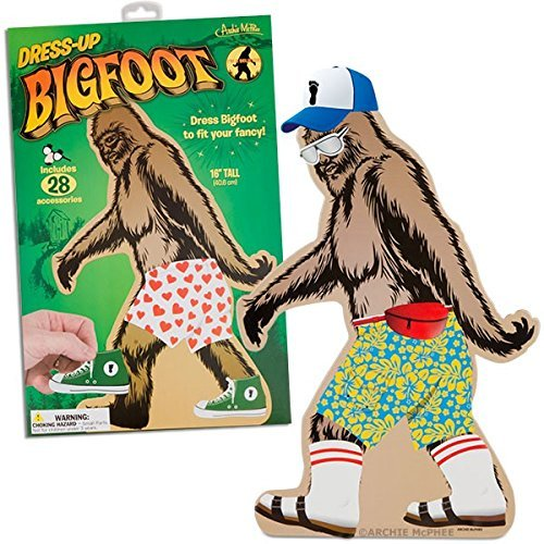 Novelty Dress Up Bigfoot