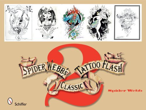 Spider Webb Spider Webb's Classic Tattoo Flash 2