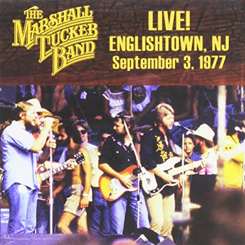 Marshall Tucker Band Live Englishtown Nj Sept. 3 1977