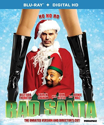Bad Santa Thornton Graham Ritter Mac Blu Ray Director's Cut Unrated