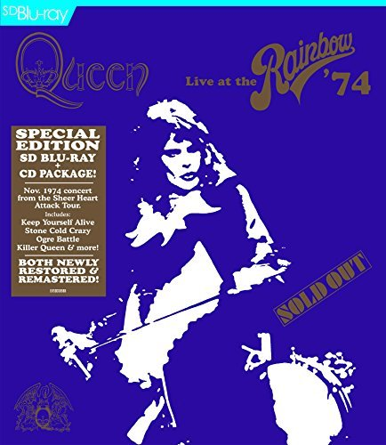 Queen Live At The Rainbow CD Blu Ray