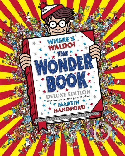 Martin Handford Where's Waldo? The Wonder Book Deluxe Edition