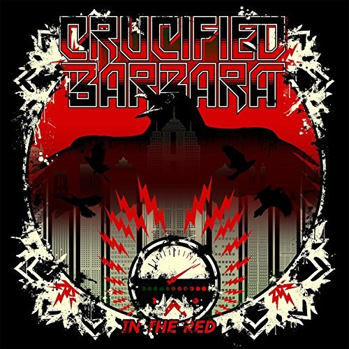 Crucified Barbara In The Red Import Swe Digipak