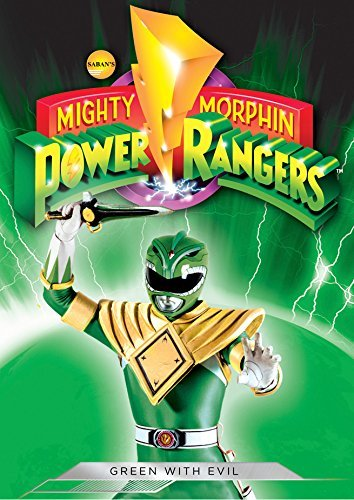 Mighty Morphin Power Rangers Green With Evil DVD