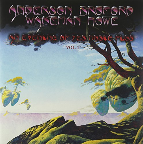Anderson Bruford Wakeman & How Evening Of Yes Music 1 2 Lp