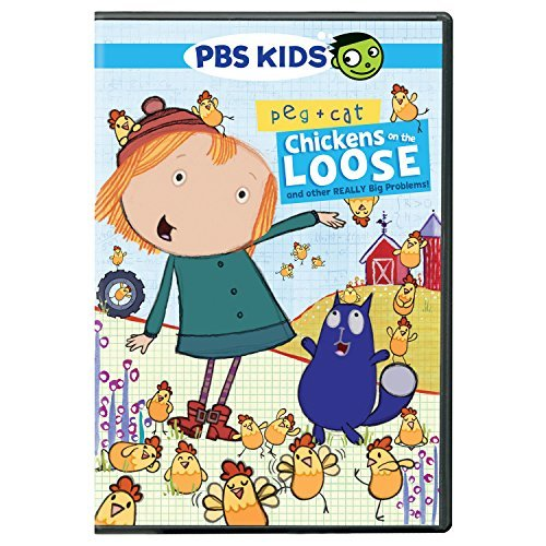 Peg & Cat Chicken Problem & Other DVD
