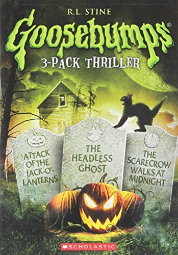 Goosebumps Attack Of Jack O'lantern Headless Ghost Scarecrow Walks At Midnight DVD