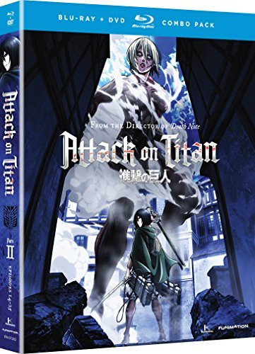 Attack On Titan Part 2 Blu Ray DVD 2 Br 2 DVD