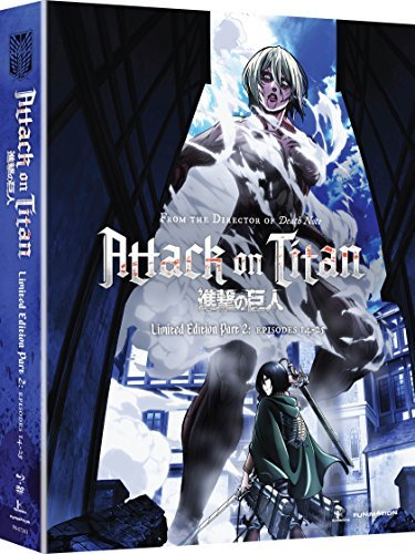 Attack On Titan Part 2 Blu Ray DVD Limited Edition