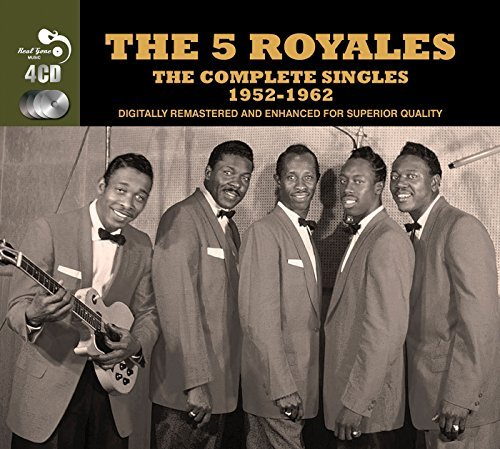 5 Royals Complete Singles 1952 62 Import Gbr 4 CD