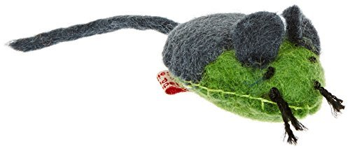 One Pet Planet Stitched Mouse One Pet Planet Wooly Fun Stitched Mouse Toy
