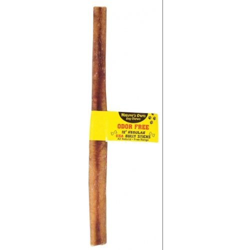 "Best Buy Bully Stick Odor Free 12"""" Best Buy Bones 90128 Regular Bully Stick Odor Free 12 In"