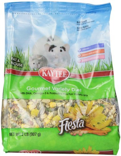 Kt Fiesta Mouse Rat 2lb Kaytee Fiesta For Mouse And Pet Rat 2 Pound