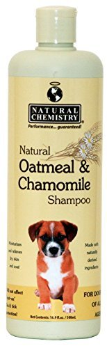 Nat Chem Oatml Cham Shamp 16oz Natural Chemistry Natural Oatmeal And Chamomile Shampoo For Pets 16.9 Ounce