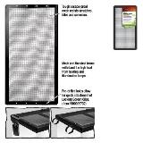 Zilla Screen Cover 5.5gal Screen Cover Metal Blk 16x8