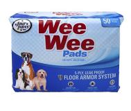 4paw Wee Wee Pads 50pk Four Paws Wee Wee Pads Standard 22? X 23? 50 Pack