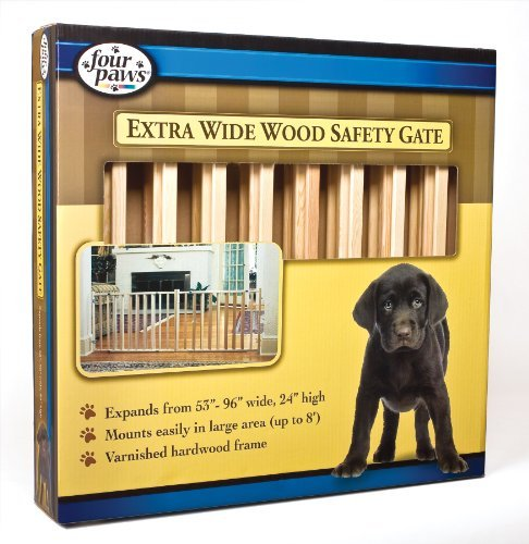 "Fp Gate Extra Wide 24h X 96w Vertical Wood Slat Gate 53"" 96"" W 24"" H"