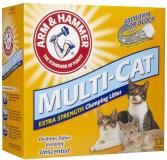 A&h Litter Clumping 20lb Arm & Hammer Multi Cat Strength Clumping Litter Unscented 20 Pounds