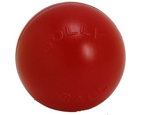 "Jolly Push N Play Ball 10"""" Red Jolly Pets 10 Inch Push N Play Red"