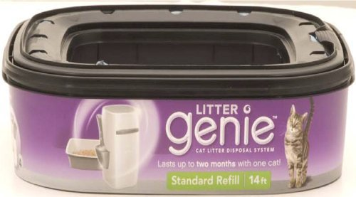 Litter Genie Refill 1 Pk Litter Genie Cat Litter Disposal System Refill Cartridge