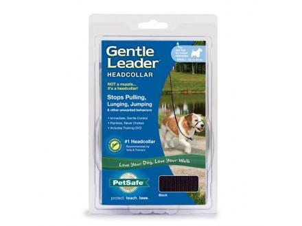 Prem Gentle Leader Hc Sm Black Petsafe Gentle Leader Headcollar Black Small