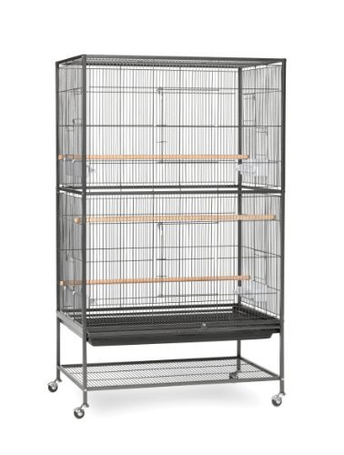 Preview Flight Cage 31x20x52 Prevue Pet Products Wrought Iron Flight Cage With Stand F040 Black Bird Cage 31 Inch By 20 1 2 Inch By 53 Inch