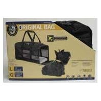 "Quaker Carrier Deluxe Lg Blk Dog Supplies Original Bag Black (large) 19"" X 11.75"" X 11.5"""