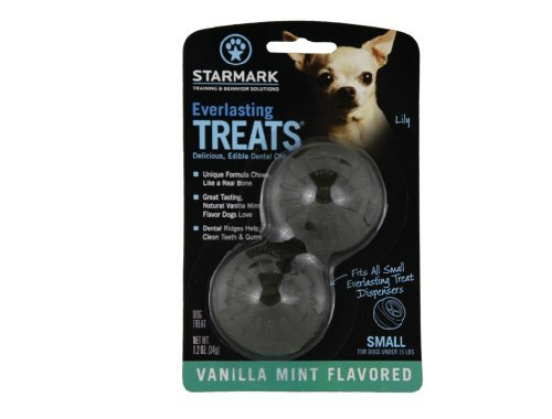 Trip Everlast Treat Sm Mint Everlasting Treat For Dogs Vanilla Mint Small