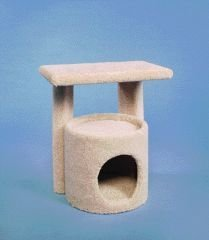 Ware Kitty Condo With Perch Kitty Condo With Perch 20 1 2""