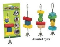 Ware Treat K Bob Assorted Treat K Bob Toy And Treat Skewer