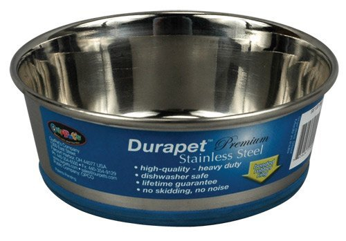 Our Bowl Durapet 1 Pint Dog Supplies Durapet Stainless Steel Dish