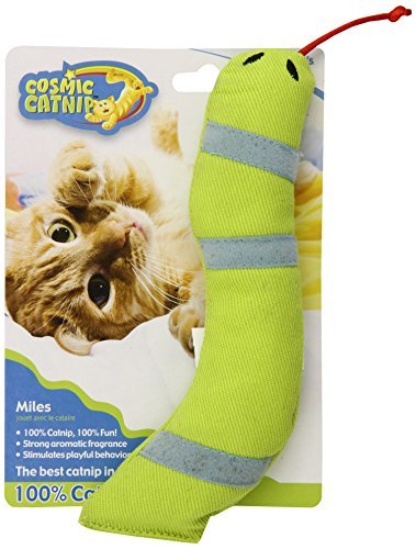 Cosmic Cat Snake Miles 100 Percent Catnip Filled Snake Cat Toy Miles